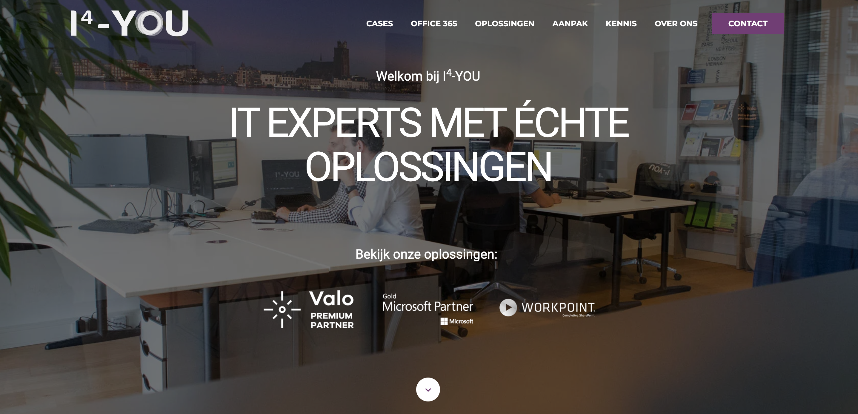 Klant I4-YOU copy webteksten klantcases
